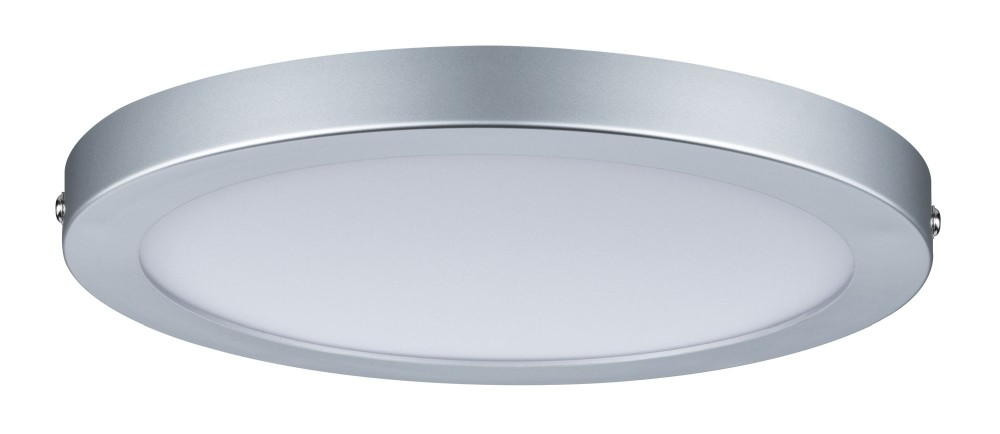 paulmann 70864 atria led panel rund 18 5w chrom matt dimmbar stm. Black Bedroom Furniture Sets. Home Design Ideas