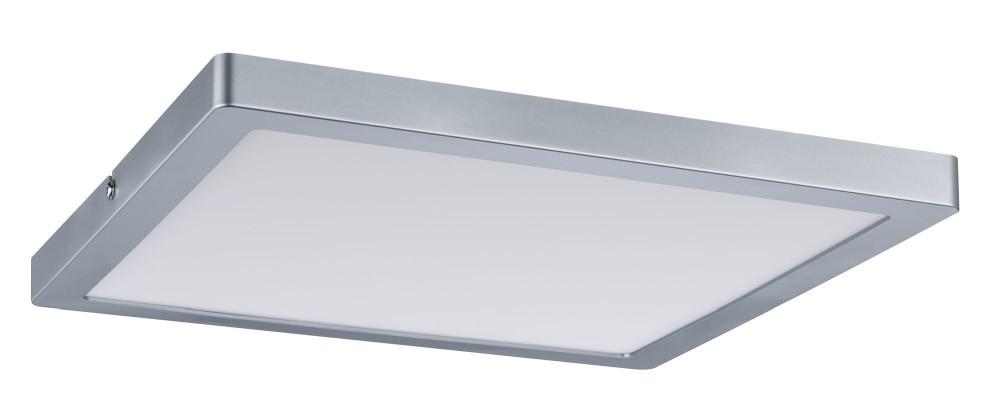 paulmann 70867 atria led panel eckig 24w chrom matt dimmbar stm. Black Bedroom Furniture Sets. Home Design Ideas