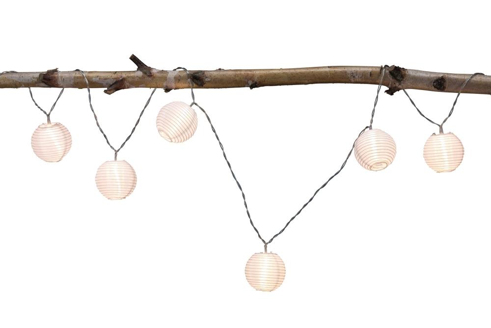 paulmann 94166 outdoor lichterkette mobile lampion ip44 mit 7 lampen akkubetrieb stm. Black Bedroom Furniture Sets. Home Design Ideas