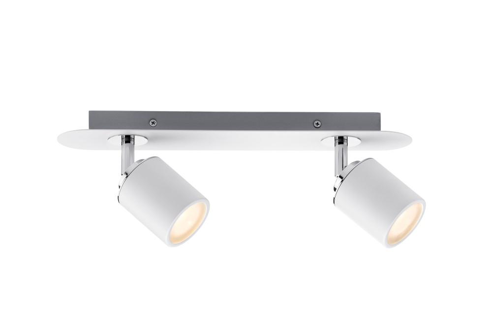 paulmann 66718 strahler tube 2xgu10 wei chrom ohne leuchtmittel stm. Black Bedroom Furniture Sets. Home Design Ideas