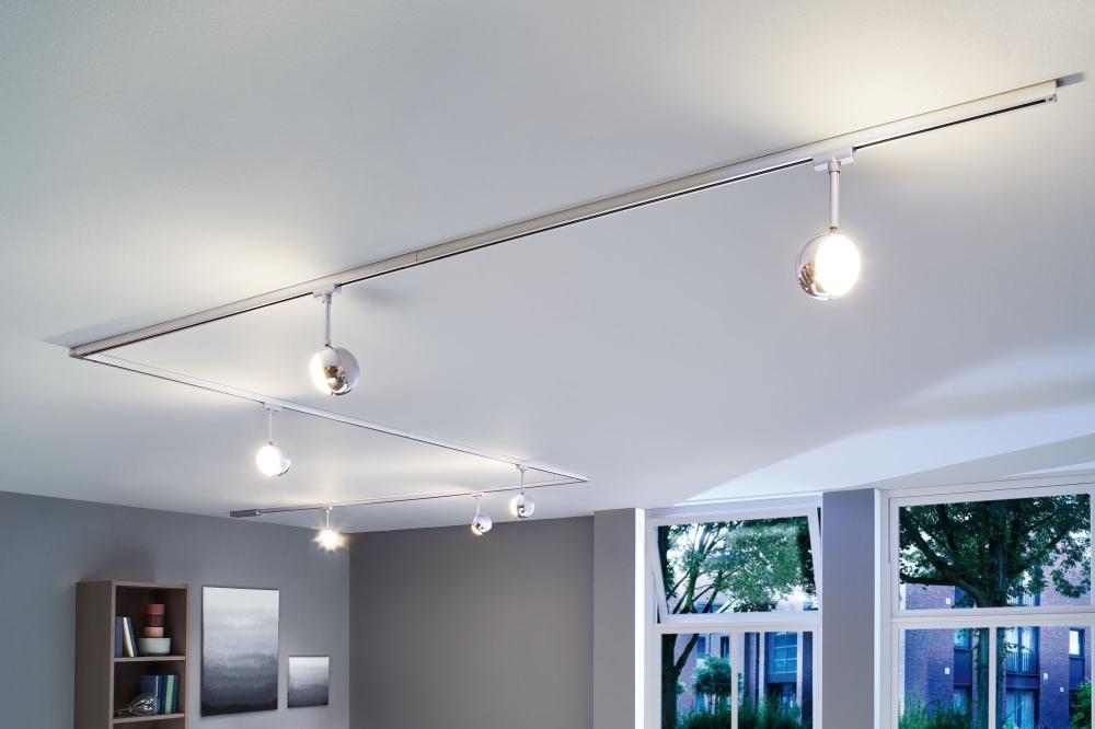 paulmann 95455 urail led spot capsule ii 6w chrom matt dimmbar. Black Bedroom Furniture Sets. Home Design Ideas