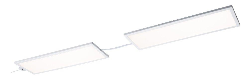 paulmann 70777 unterschrank panel led ace 7 5w wei 10x30cm erweiterung. Black Bedroom Furniture Sets. Home Design Ideas