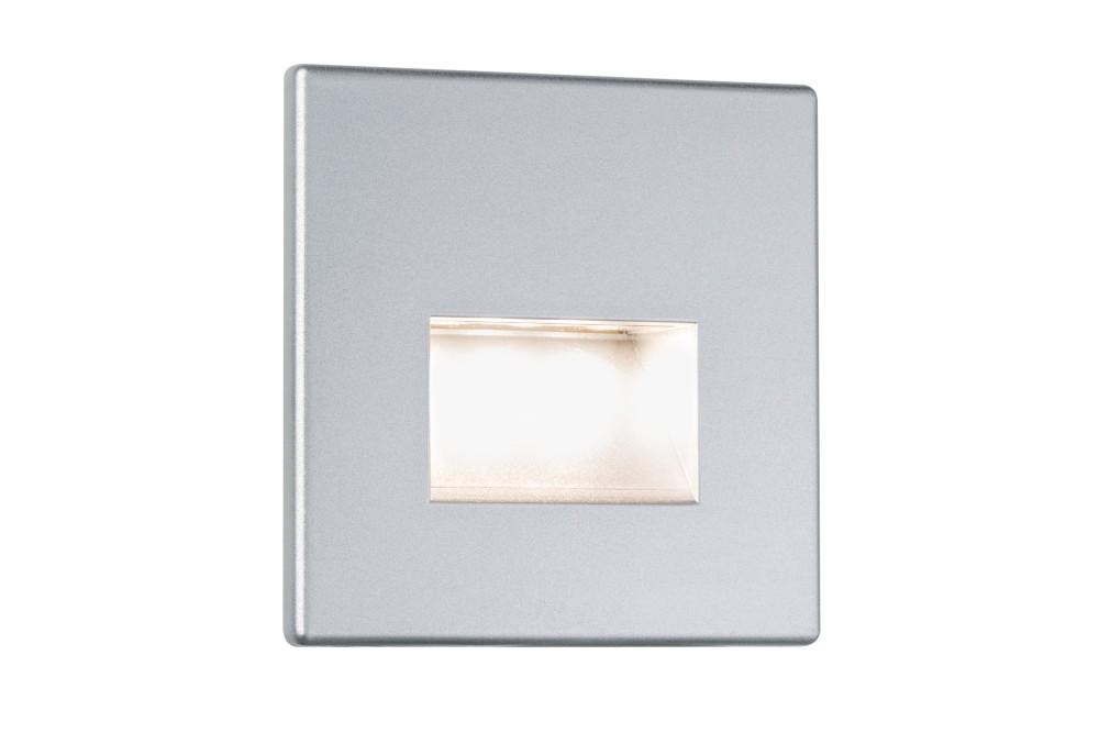 paulmann 99495 wandeinbauleuchte led edge 1 1w chrom matt inkl leuchtmittel stm. Black Bedroom Furniture Sets. Home Design Ideas