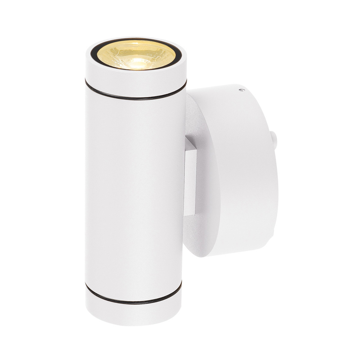 slv helia wandleuchte led 3000k wei up down 2x6w 233231. Black Bedroom Furniture Sets. Home Design Ideas
