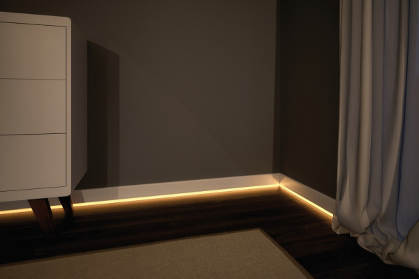 paulmann 70862 socle profil mit diffusor 100cm alu. Black Bedroom Furniture Sets. Home Design Ideas