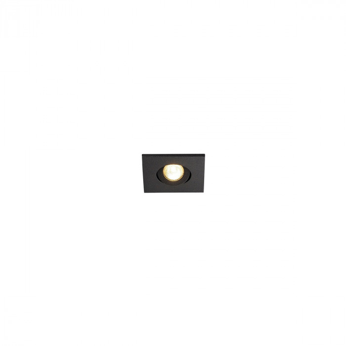 slv new tria mini downlight eckig mattschwarz 3000k 114400 stm. Black Bedroom Furniture Sets. Home Design Ideas