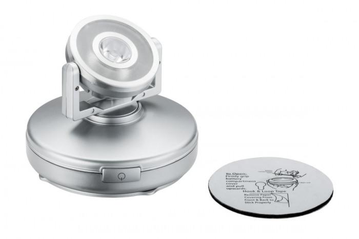 paulmann 70637 schrankleuchte led rotate 1er spot dimmbar batteriebetrieben stm. Black Bedroom Furniture Sets. Home Design Ideas